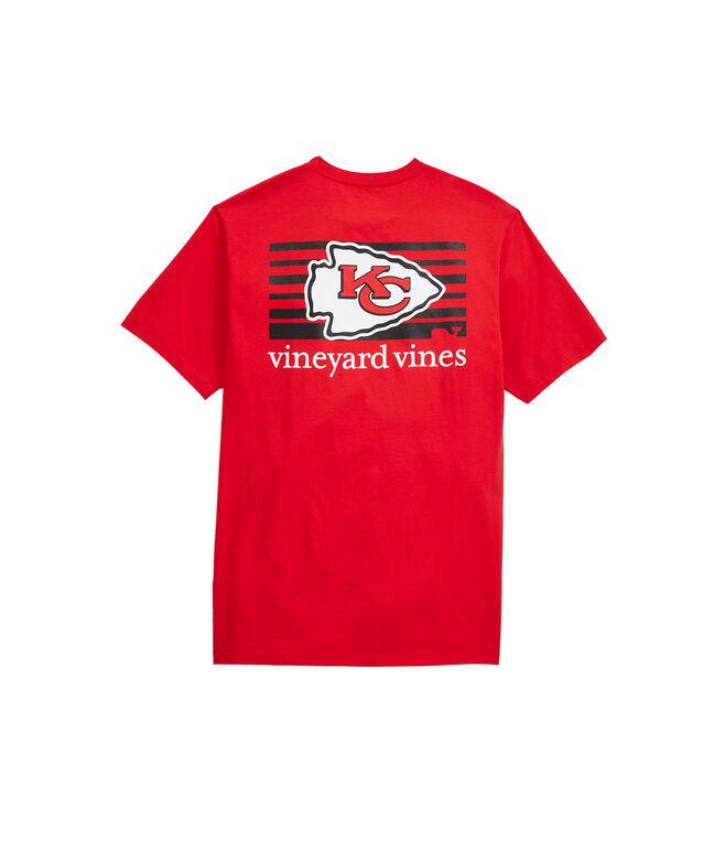 Kansas City Chiefs Block Stripe Tee