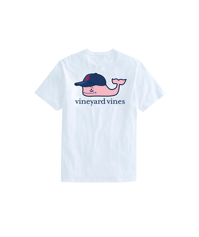 Washington Nationals Baseball Cap Pocket Tee