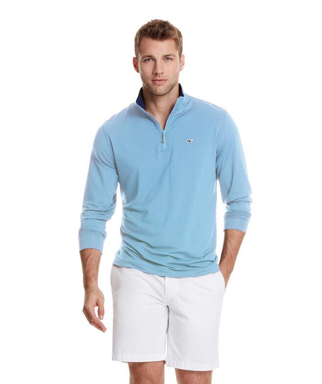 OUTLET Men's Jersey 1/4-Zip Pullover