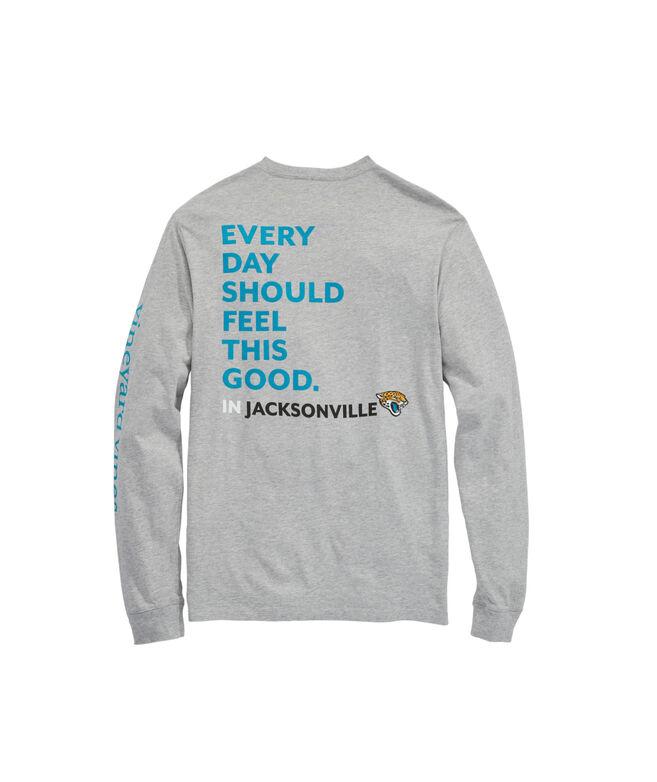 Jacksonville Jaguars Long-Sleeve EDSFTG T-Shirt