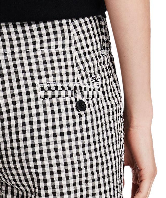 3 1/2 Inch Gingham Seersucker Every Day Shorts