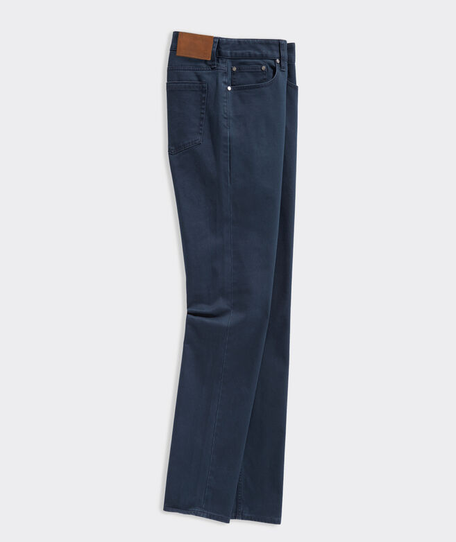 Island Twill 5-Pocket Pants