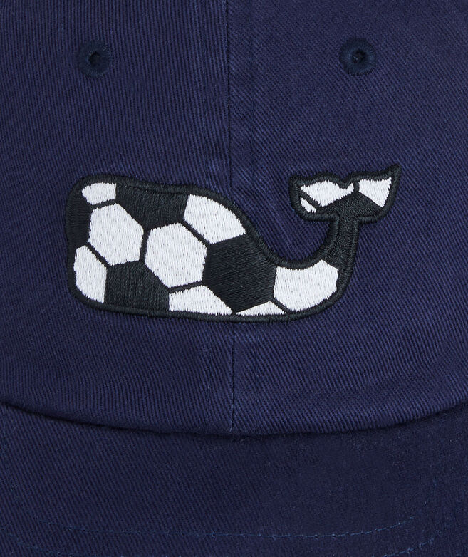 Little Kids Soccer Whale Baseball Hat