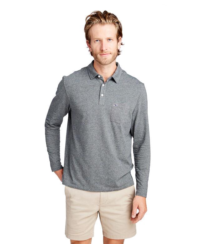Long-Sleeve Edgartown Polo