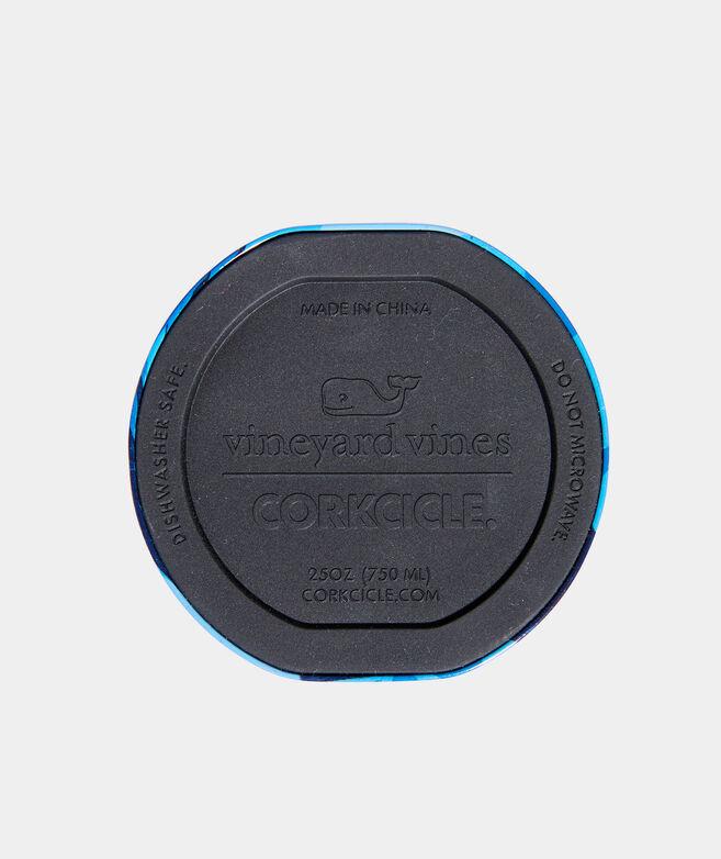 Blue Camo Corkcicle Canteen
