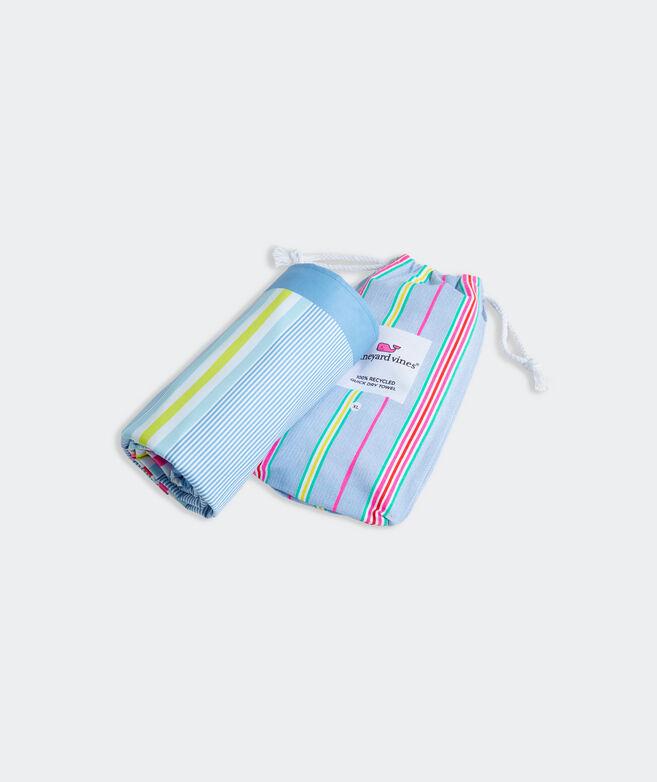 Beachy Stripe Quick Dry Towel