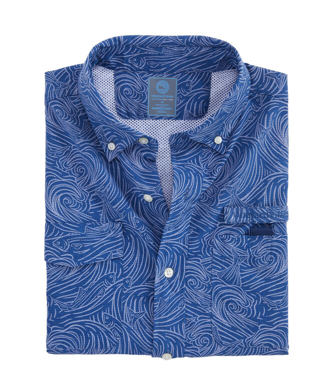 Surf No Turf Short-Sleeve Harbor Shirt