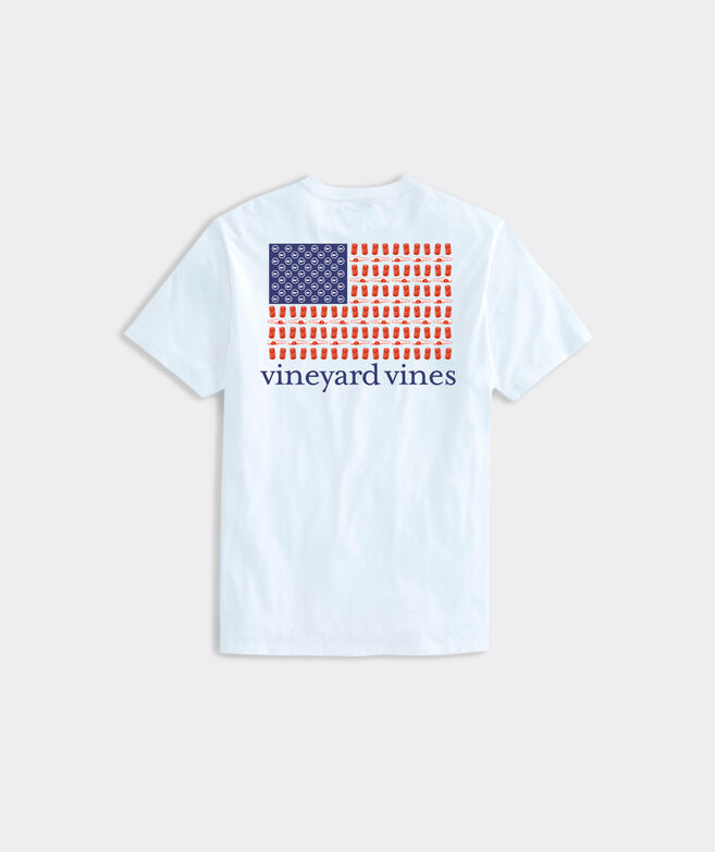Big & Tall Red White & Brew Short-Sleeve Pocket Tee