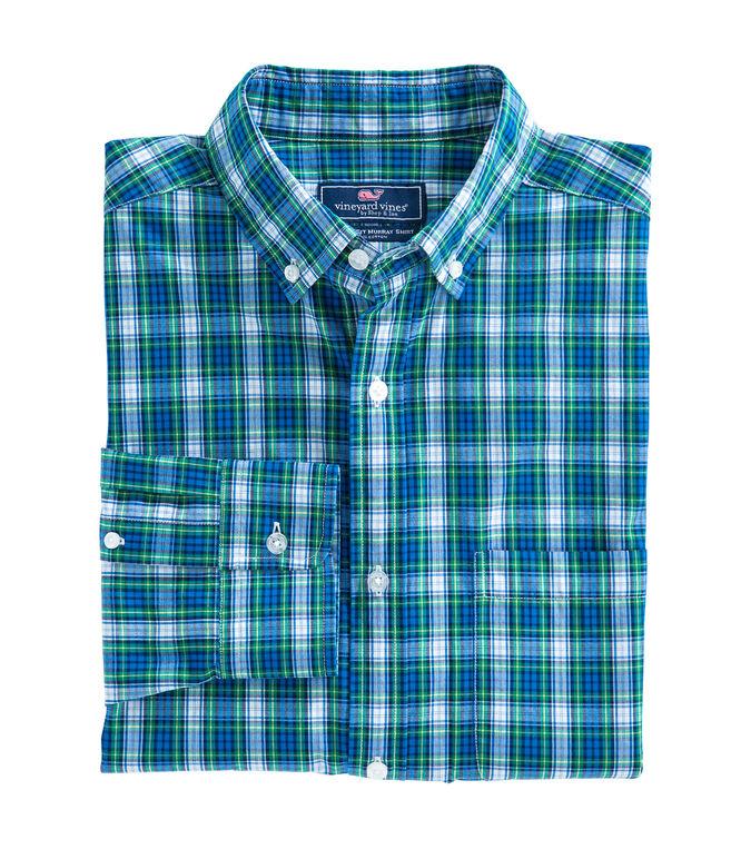 Pine Plaid Classic Murray Shirt