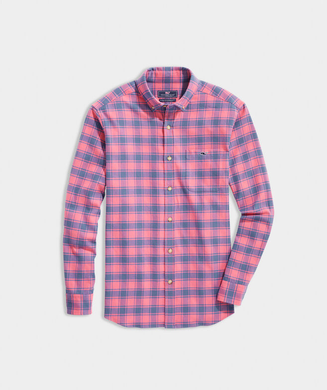 Classic Fit Flannel Tucker Shirt