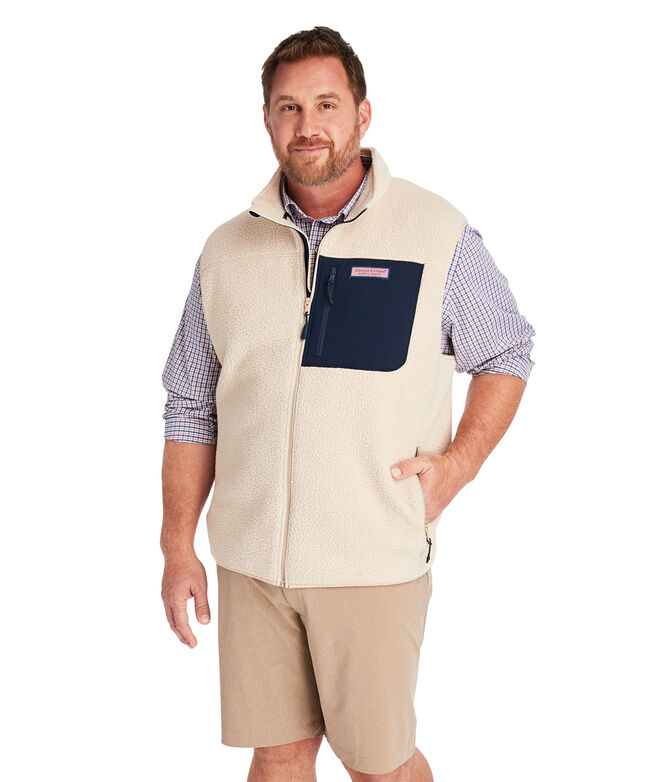 Big & Tall Stillwater Sherpa Vest