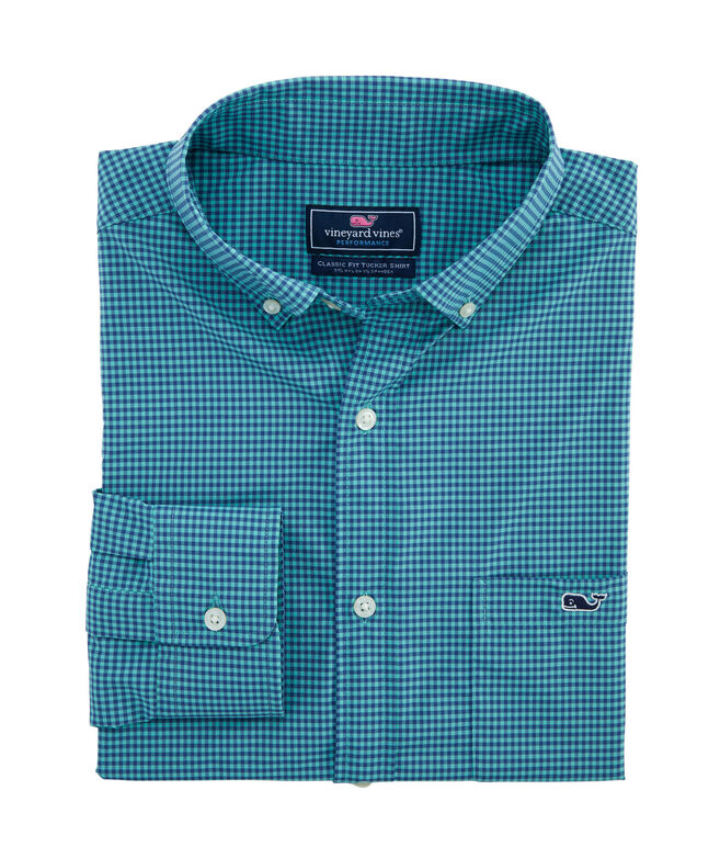 Big & Tall Classic Lisbon On-The-Go Performance Tucker Shirt