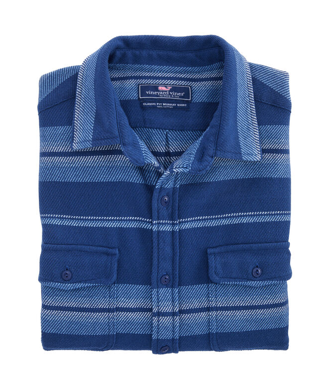 Vineyard Flannel Classic Fit Overshirt