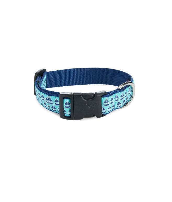 Geo Sailboat Dog Collar