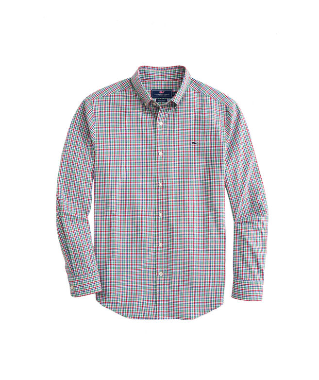 OUTLET Classic Fit Merry Arawak Twill Whale Shirt