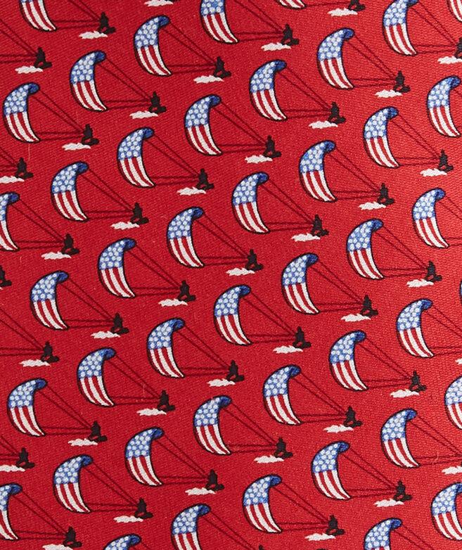 American Kite Printed Tie