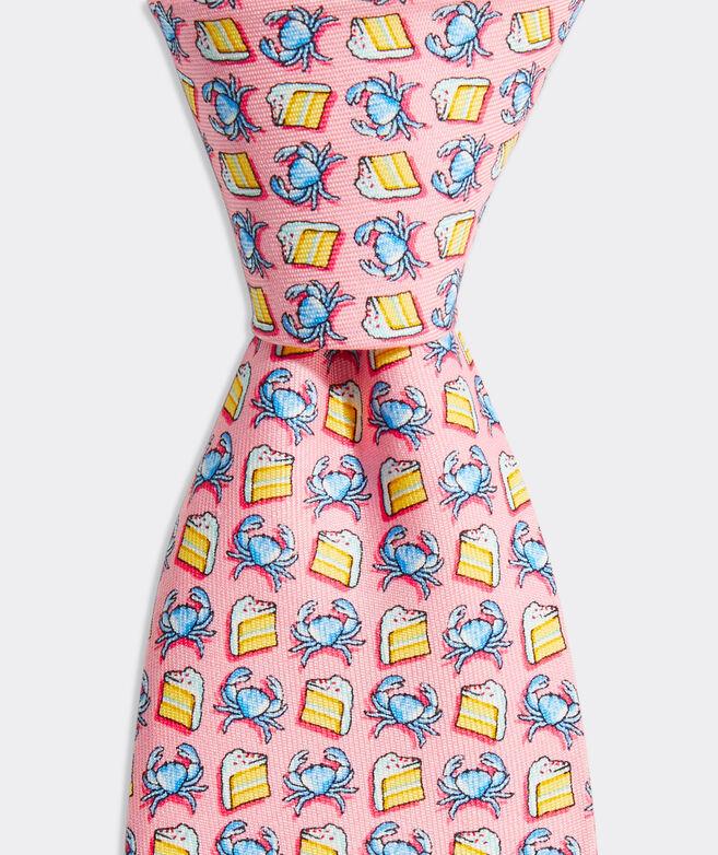 Boys' Crab Cake Printed Tie