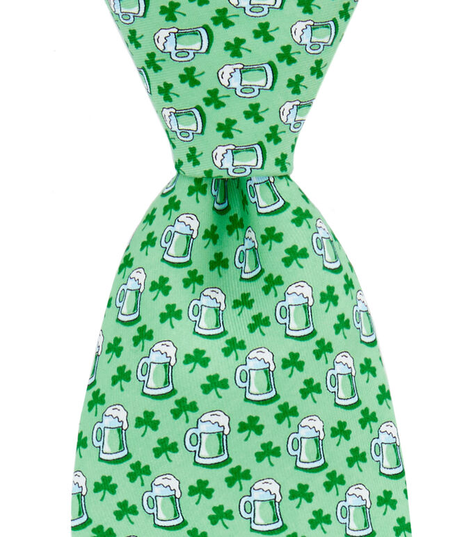 St. Paddy's Stein Printed Tie