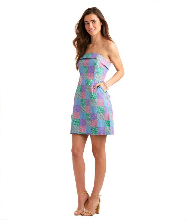 Derby Icon Patchwork Dress
