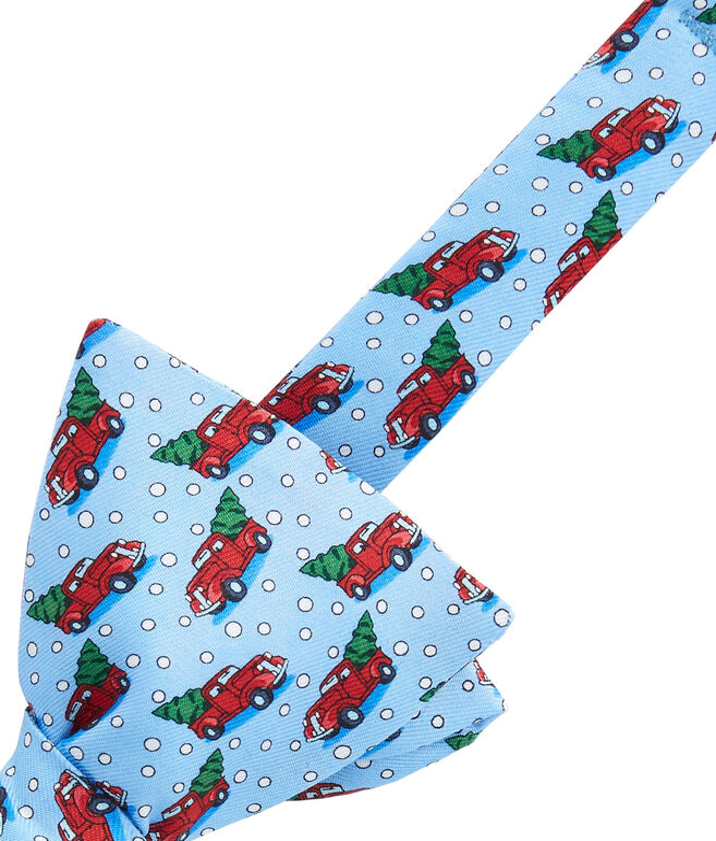 Truck & Tree Bow Tie