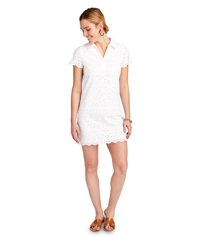 Eyelet Margo Shirt Dress