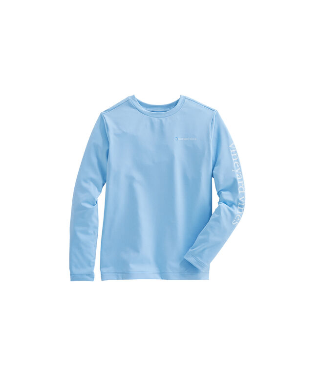 Boys Long-Sleeve Performance Sport T-Shirt