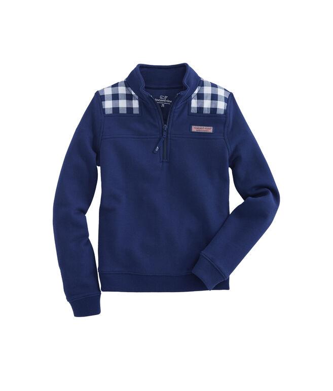 Girls Lookout Gingham Classic Shep Shirt
