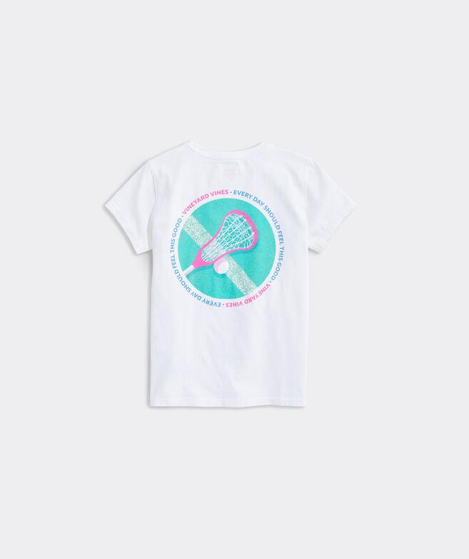 Girls' Lacrosse Circle Short-Sleeve Tee