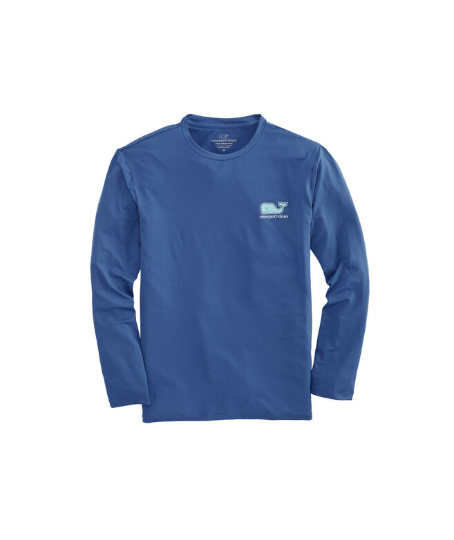 Long-Sleeve Performance Sportfisher Whale Fill T-Shirt