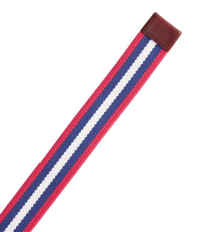 Multi Stripe D-Ring Tech Belt
