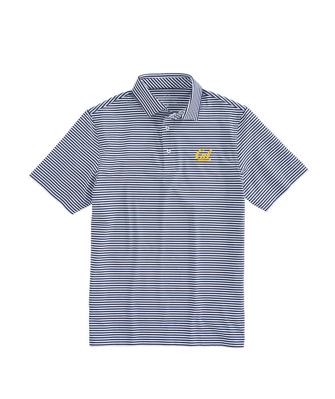 Cal Berkley Winstead Sankaty Performance Polo