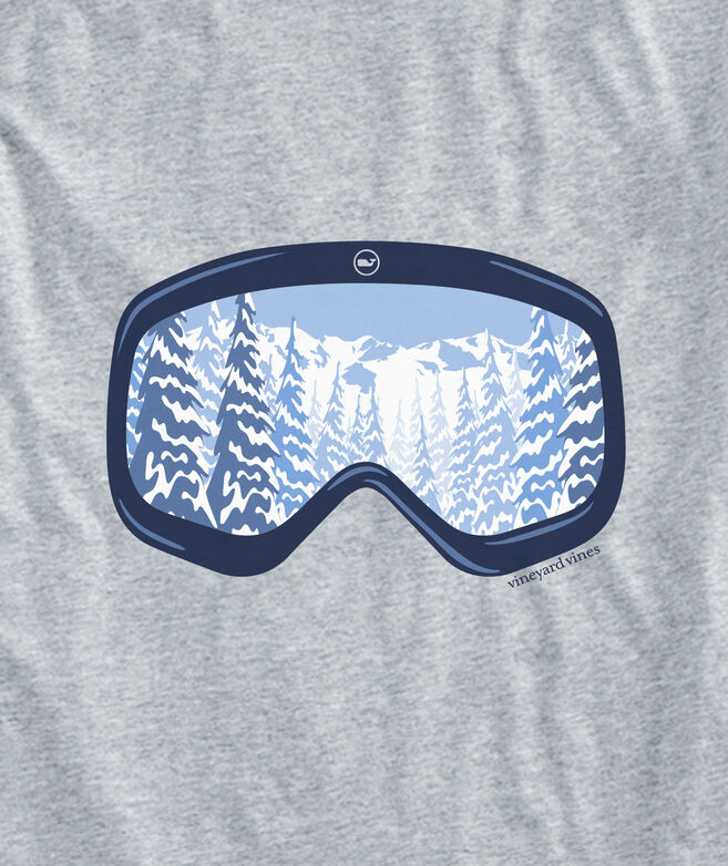 Scenic Ski Goggles Long-Sleeve Pocket Tee