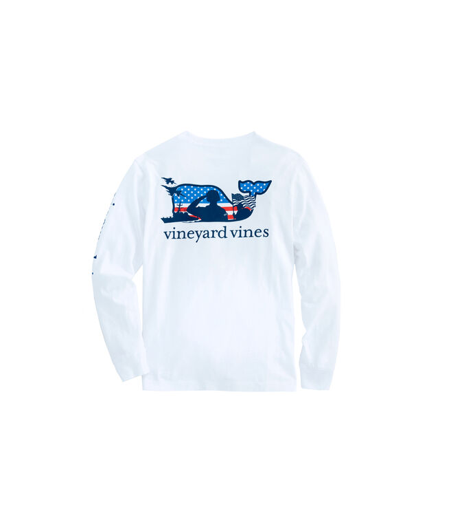 Kids Long-Sleeve Veterans T-Shirt