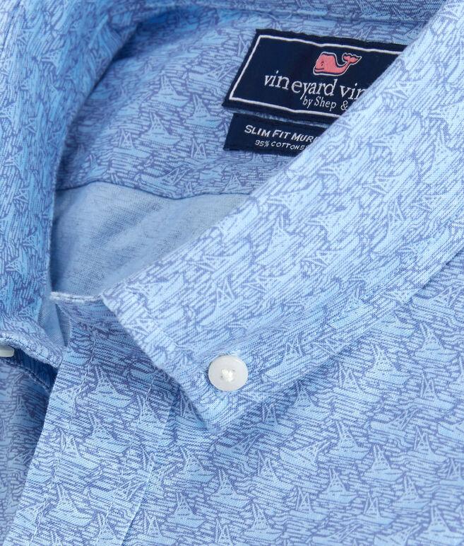 Short-Sleeve Mini Sportfisher Slim Murray Shirt