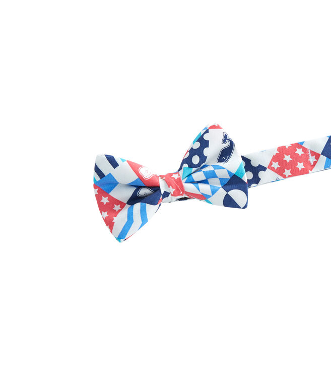 Boys Patchwork Bow Tie