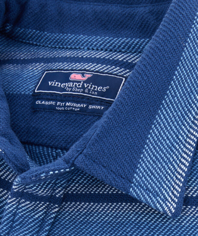 Classic Fit Vineyard Flannel Overshirt