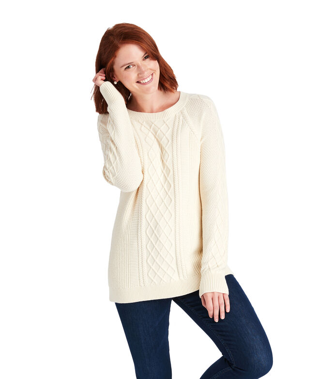 Raglan Fisherman Sweater