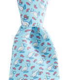 Pelican and Fish Tie