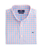 Sandy Cay Check Slim Whale Shirt