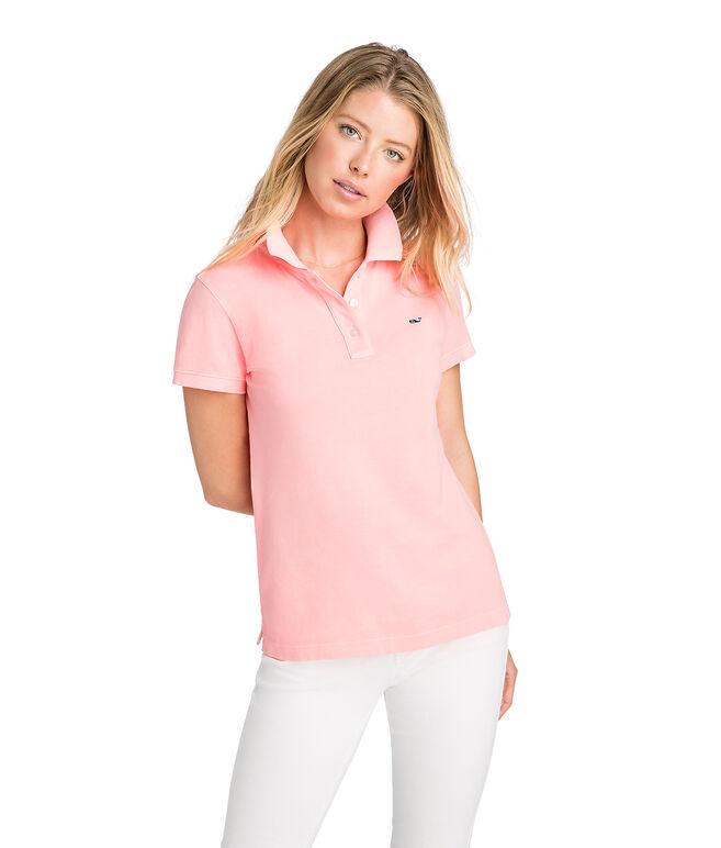 Garment Dyed Pique Polo