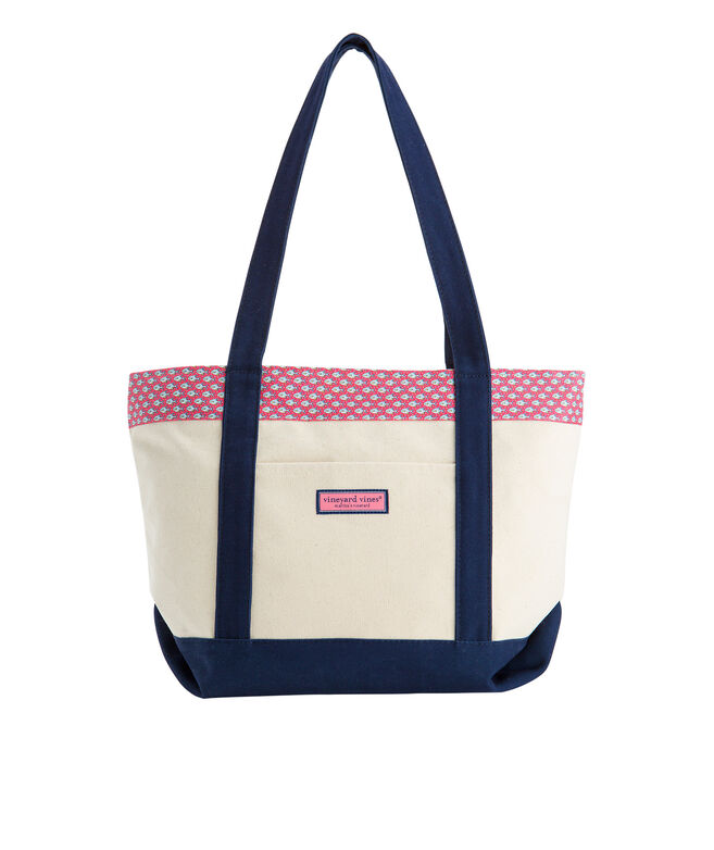 Permit and Bubbles Printed Classic Tote