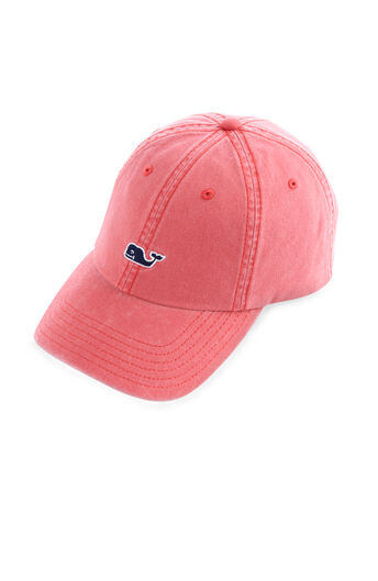 f02d31bd56691 Whale Logo Leather Strap Baseball Hat