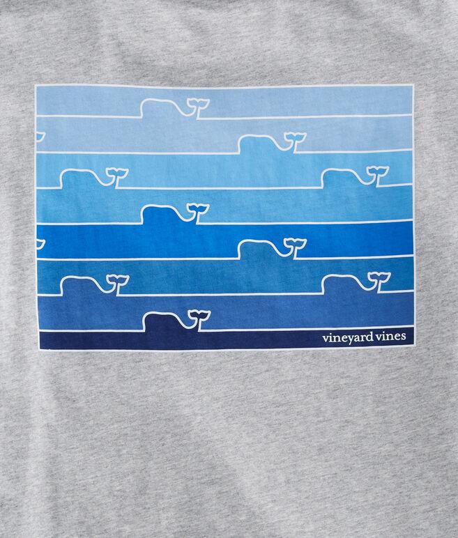Ombre Whale Line T-Shirt