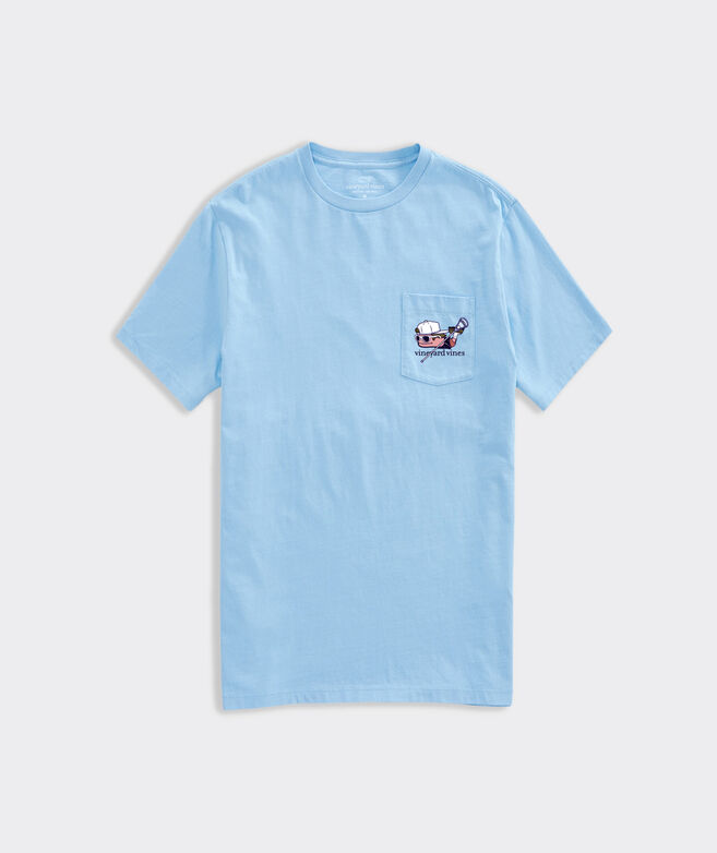 Defenseman Lax Bro Short-Sleeve Pocket Tee