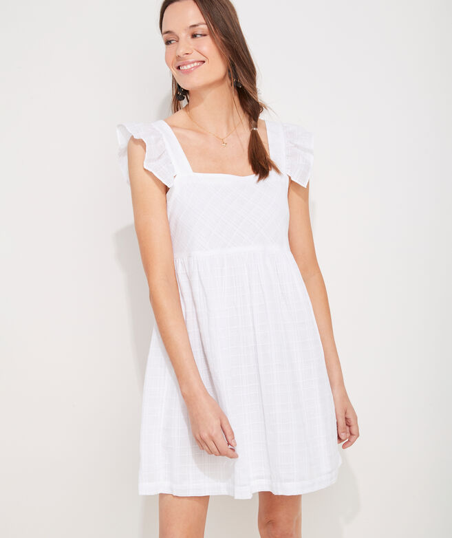 Ruffle Sleeve Cover-Up