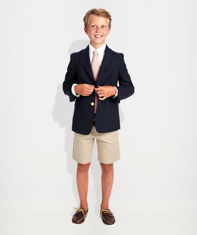 Kids' Stretch Navy Blazer (8-18)