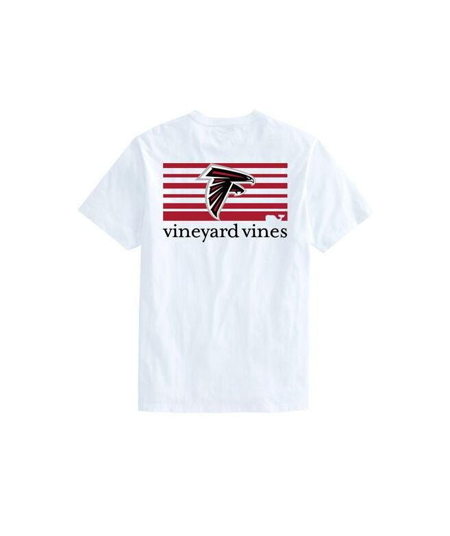Atlanta Falcons Block Stripe Tee