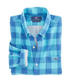 Crepe Myrtle Check Slim Tucker Shirt