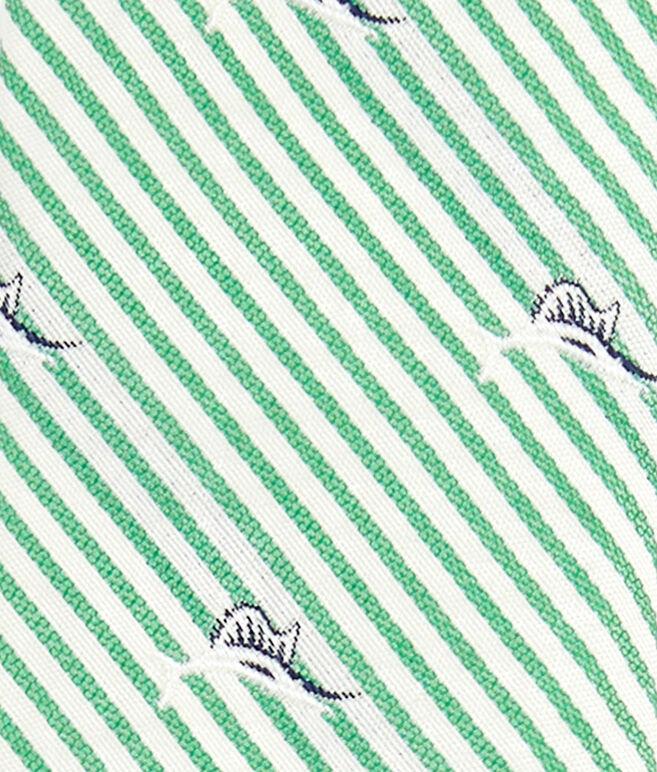 Swordfish On Stripe Kennedy Tie