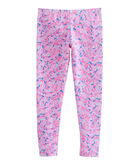 Girls Whale Swirl All Day Leggings